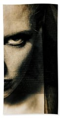 Bath Towel featuring the photograph Dont Look At Me  by Sotiris Filippou