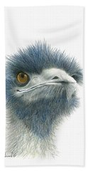 Dont Mess With Emu Hand Towel