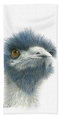 Dont Mess With Emu Bath Towel