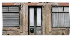 Bath Towel featuring the photograph Door No 128 by Marco Oliveira
