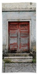 Bath Towel featuring the photograph Door No 175 by Marco Oliveira