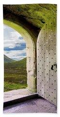 Door To The Moor Bath Towel