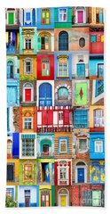 Doors And Windows Of The World - Vertical Bath Towel