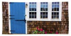 Blue Door - Doors And Windows Series 01 Hand Towel