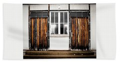 Doors Of Dachau Hand Towel