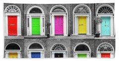 Doors Of Dublin Hand Towel