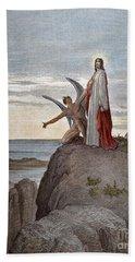 Temptation Of Jesus Hand Towel