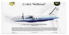 Dornier C-146a Wolfhound Bath Towel