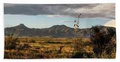 Dos Cabezas Grasslands At Dusk Hand Towel