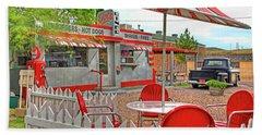 Dot's Diner In Bisbee Arizona Hand Towel