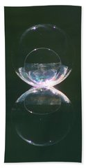 Double Bubble Infinity Hand Towel by Cathie Douglas