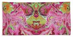 Double Rhapsody- Art By Linda Woods Bath Towel