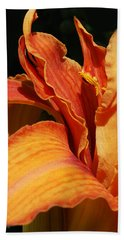 Double Tigerlily Hand Towel