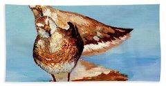 Dowitcher Birds Hand Towel