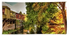 Down By The Creek Hand Towel