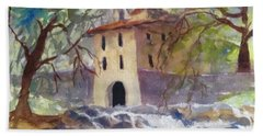 Down By The Old Mill Stream Hand Towel