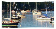 Down By The Sea Hand Towel