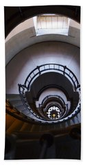 Down The  Lighthouse Stairs Hand Towel