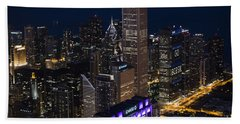 Downtown Chicago Hand Towel