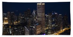 Downtown Chicago Bath Towel