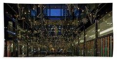 Downtown Christmas Decorations - Washington Bath Towel