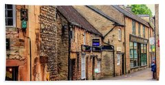 Bath Towel featuring the photograph Downtown In The Cotswolds by Wallaroo Images