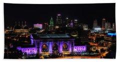 Downtown Kansas City  Bath Towel