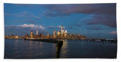 Downtown Manhattan Bath Towel