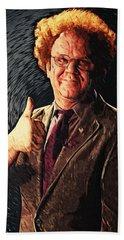 Dr. Steve Brule Digital Art Hand Towels