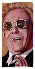 Hand Towel featuring the painting Dr. Strangelove 3 by Tom Roderick