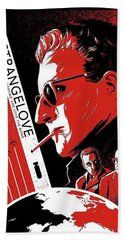 Dr. Strangelove Theatrical Poster Number Three 1964 Hand Towel