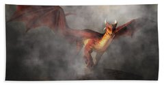 Draco Hand Towel by Daniel Eskridge