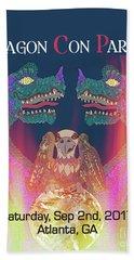 Dragon Con Parade Hand Towel by Megan Dirsa-DuBois