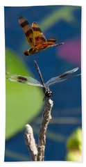 Dragon Fly 195 Hand Towel by Michael Fryd