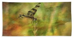 Dragonfly Art Bath Towel