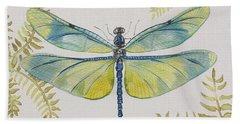 Dragonfly Beauty-jp3150 Bath Towel