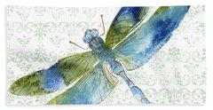 Dragonfly Bliss-jp3435 Bath Towel