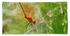 Dragonfly Dance Hand Towel