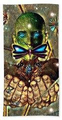 Dragonfly Empath Hand Towel