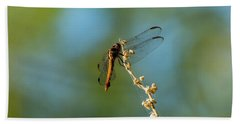 Dragonfly Wings Bath Towel