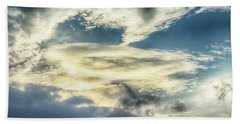 Drama Clouds Hand Towel