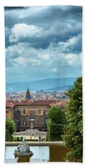 Drama In The Palace Of Firenze Hand Towel