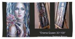 Drama Queen 301109 Hand Towel by Selena Boron