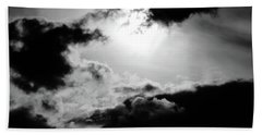 Dramatic Clouds Hand Towel