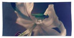 Dramatic White Lily 4 Bath Towel
