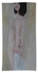 Draped Nude Bath Towel