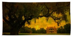 Drayton Hall Plantation In Charleston Hand Towel