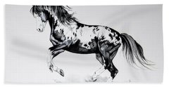 Dream Horse Series - Painted Dust Bath Towel by Cheryl Poland
