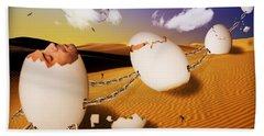 Dream Of Desert  Hand Towel