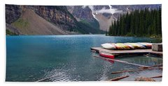 Moraine Lake, Ab  Bath Towel